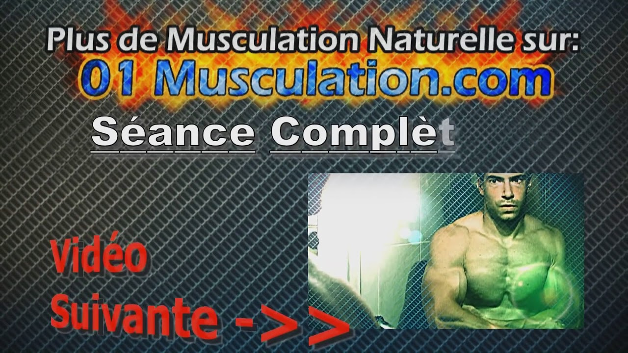musculation pectoraux le d velopp couch youtube. Black Bedroom Furniture Sets. Home Design Ideas