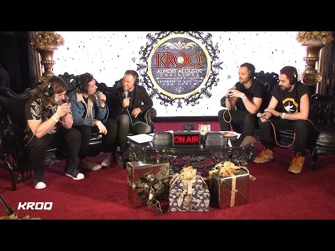 Bastille Interview – KROQ Almost Acoustic Christmas 2015