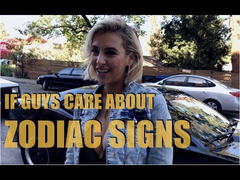 If Guys Cared about Zodiac