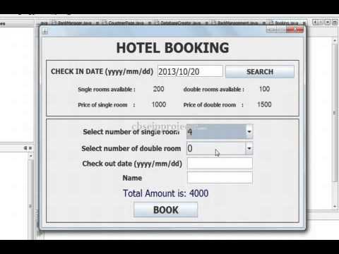 Download Hotel Booking Management CBSE Informatics