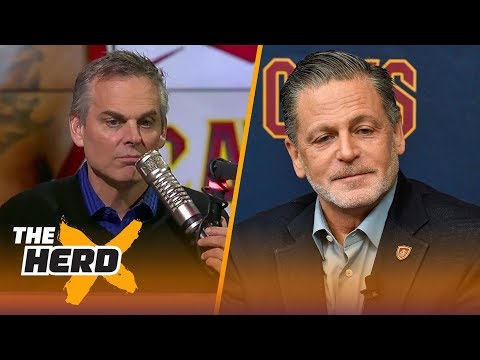 Colin thinks it could be the right time for Dan Gilbert to sell the Cavaliers | THE HERD