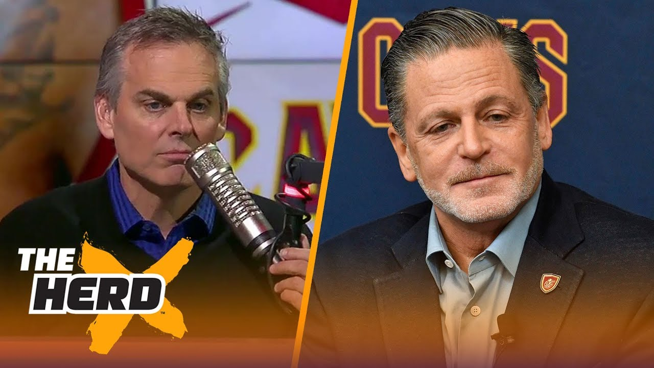 Colin thinks it could be the right time for Dan Gilbert to sell the Cavaliers   THE HERD