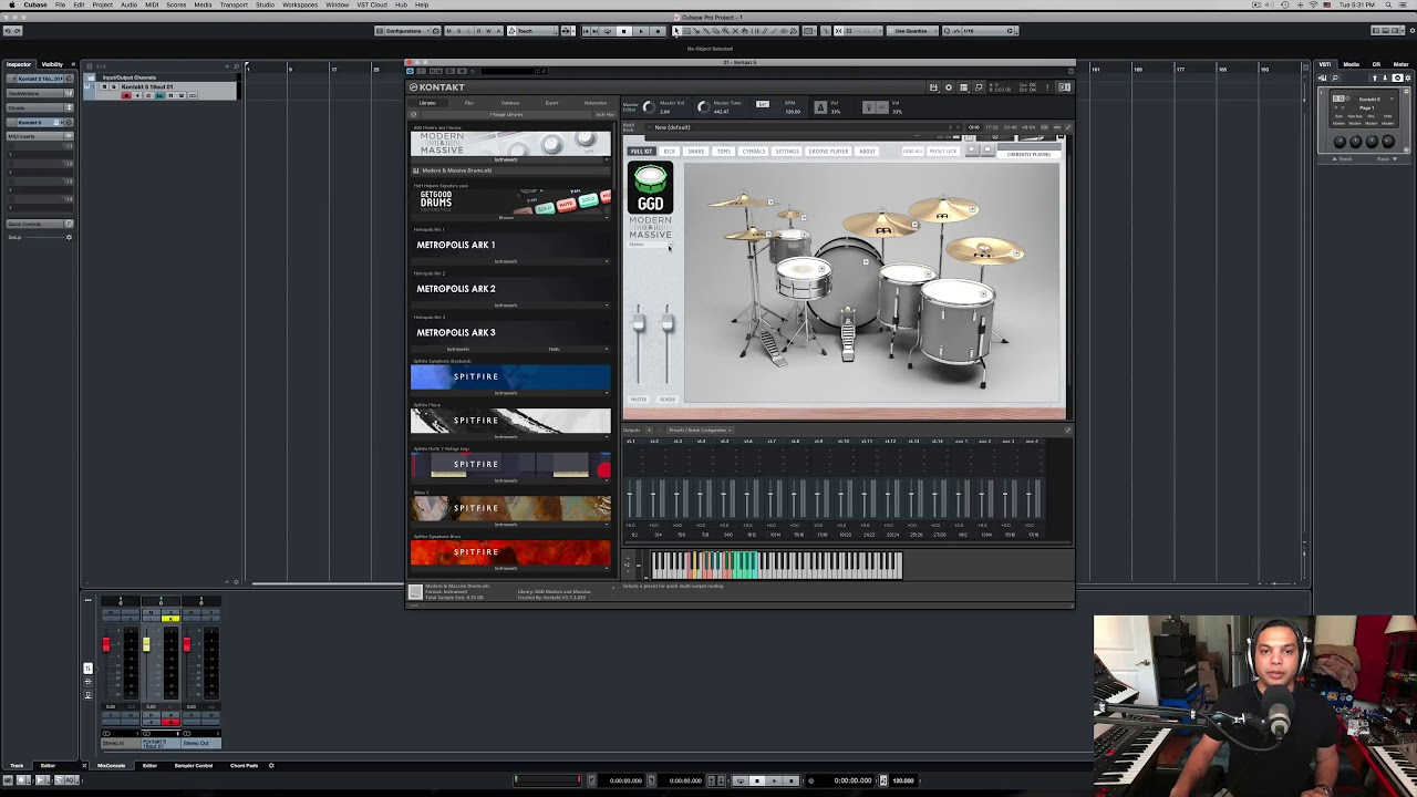 Routing Modern & Massive in your DAW | GetGood Drums