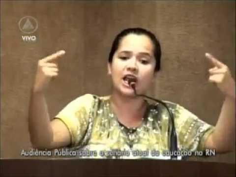 Professora Amanda Gurgel silencia Deputados em audiência pública - A EDUCAÇÃO NO BRASIL