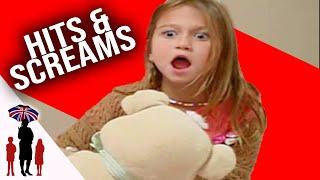 6 year old pushes, screams and hits mum...SuperNanny USA