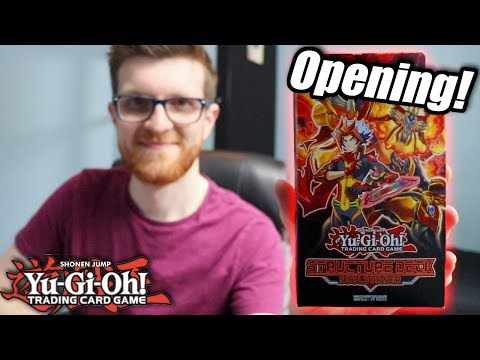 Yu-Gi-Oh! Soulburner Structure Deck Opening + Discussion!