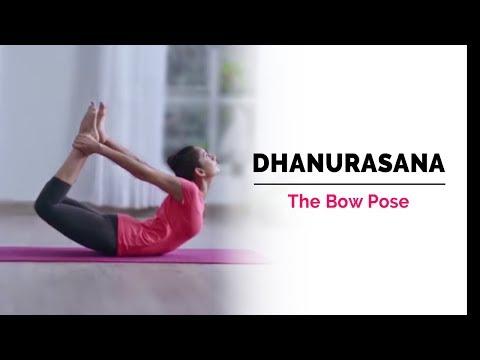 Dhanurasana   Bow Pose   Steps   Benefits   Yogic Fitness