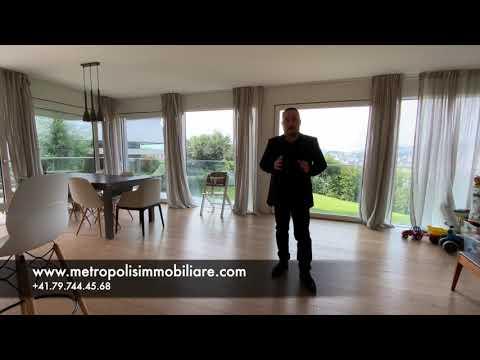 Bellissimo elegante e moderno appartamento 4.5 locali in contesto privilegiato a Lugano-Pregassona