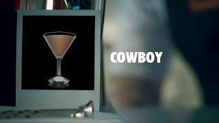 COWBOY DRINK RECIPE - HOW TO MIX