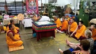 Tibetan Buddhist Monks House Blessing Ceremony