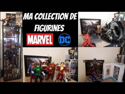 Ma collection de figurines Marvel et DC Comics