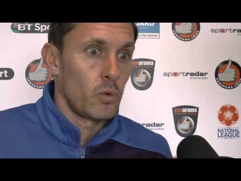 Paul Hurst's Pre Match Press Conference - Aldershot