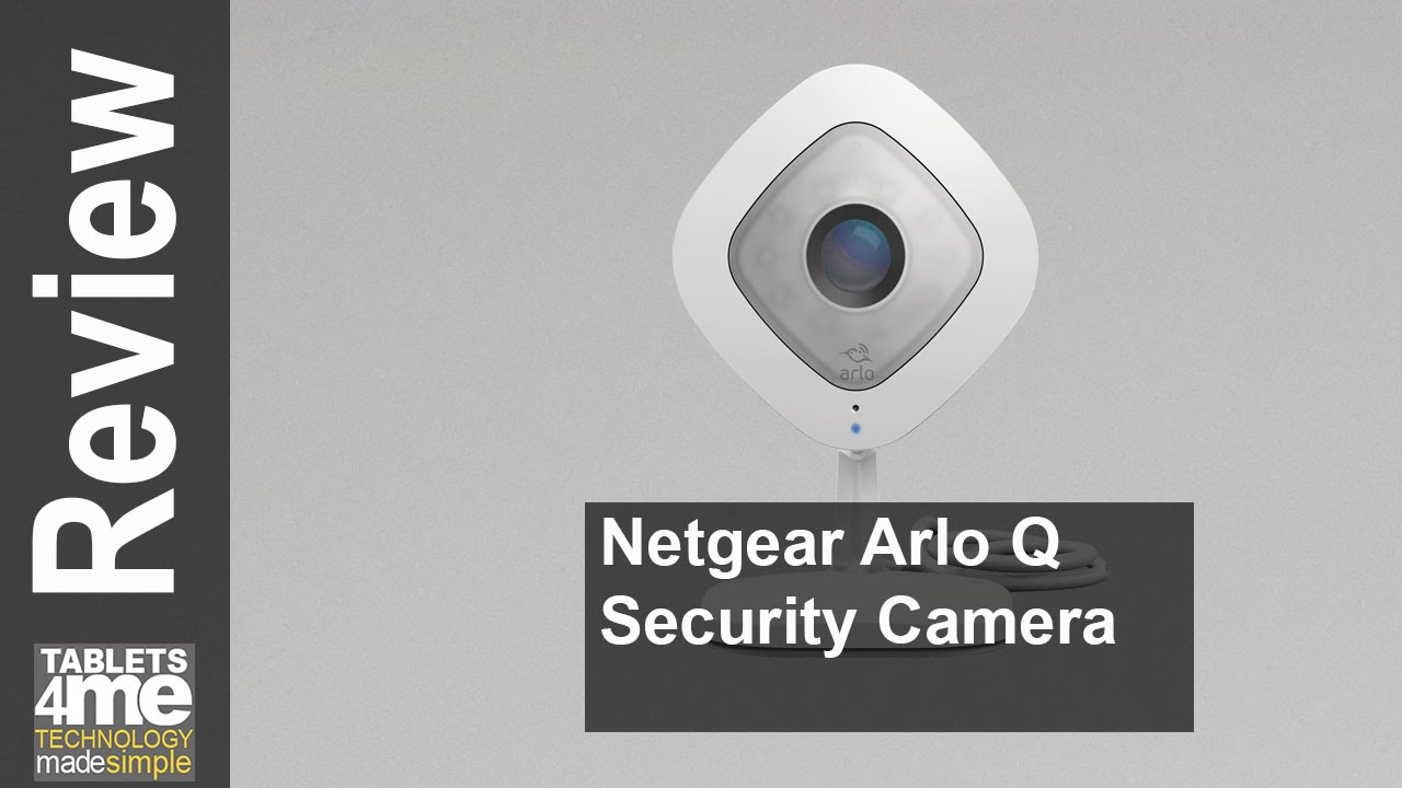 95eb53d6062 New Netgear Arlo Q - 1080p HD Security Camera with Audio - YouTube