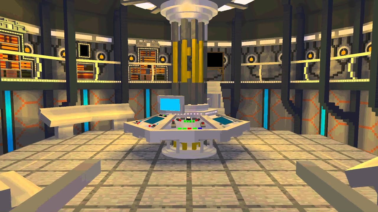 Minecraft Doctor Who   The 2014 Tardis Teaser   YouTube