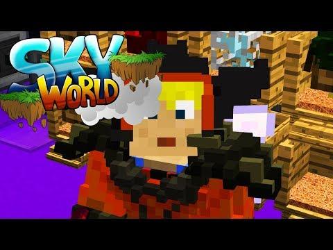 """Ein """"kleines"""" Bauprojekt zu zweit! - Minecraft SKY WORLD #47"""