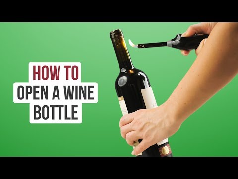 Life Hack How To Open A Wine Bottle