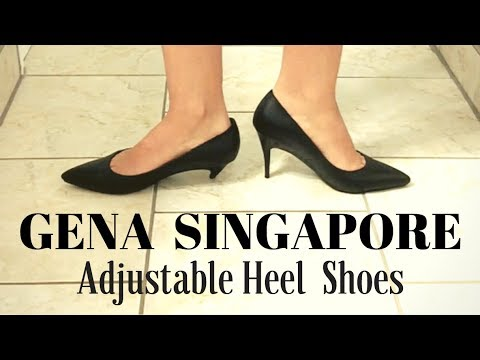 THE PERFECT PUMP? GENA Adjustable Heel Shoe Review! | Lucy's Corsetry