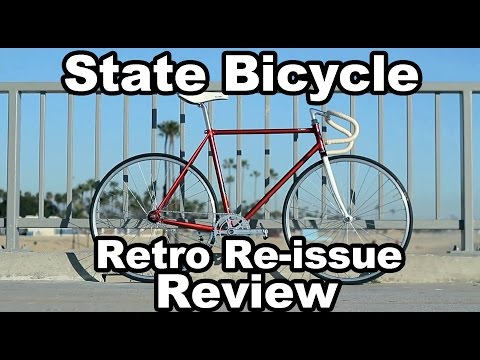 State Bicycle Co Retro Re-issue Bicycle Review