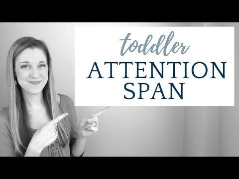 How to increase your toddler's ATTENTION span