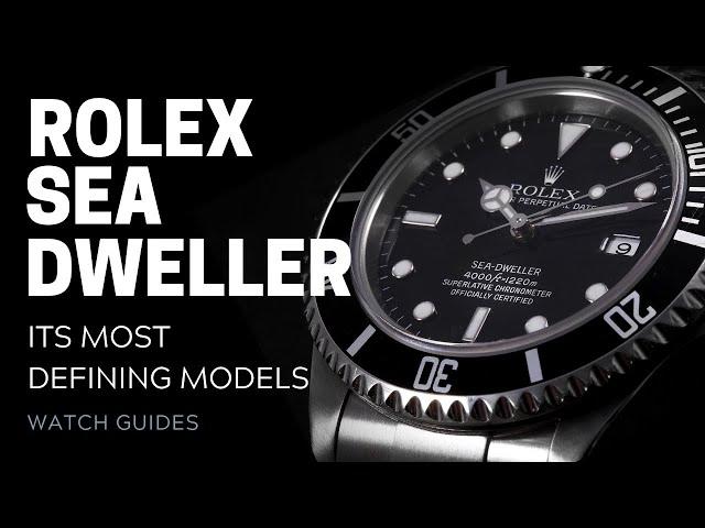 Rolex Sea-Dweller: Its Most Defining Models | SwissWatchExpo [Rolex Watches]
