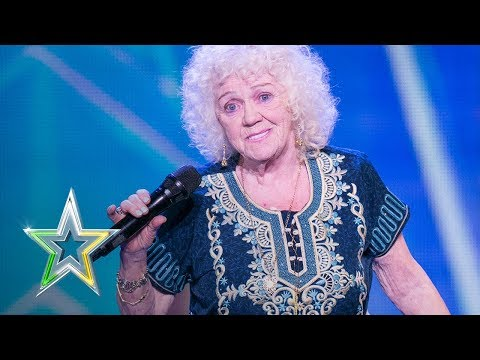 81-year-old Evelyn stuns the judges  Auditions Week 1  Ireland's Got Talent 2018