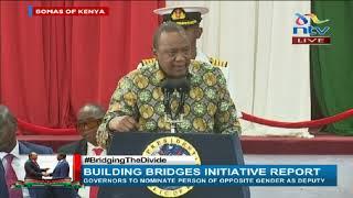 Uhuru: I had a 'handshake' with DP Ruto before Raila Odinga || BBI Report