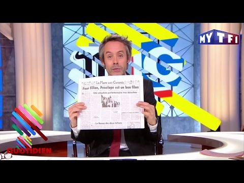 #Penelopegate : les soutiens de Fillon ont presque toutes les réponses - Quotidien du 25 Janvier