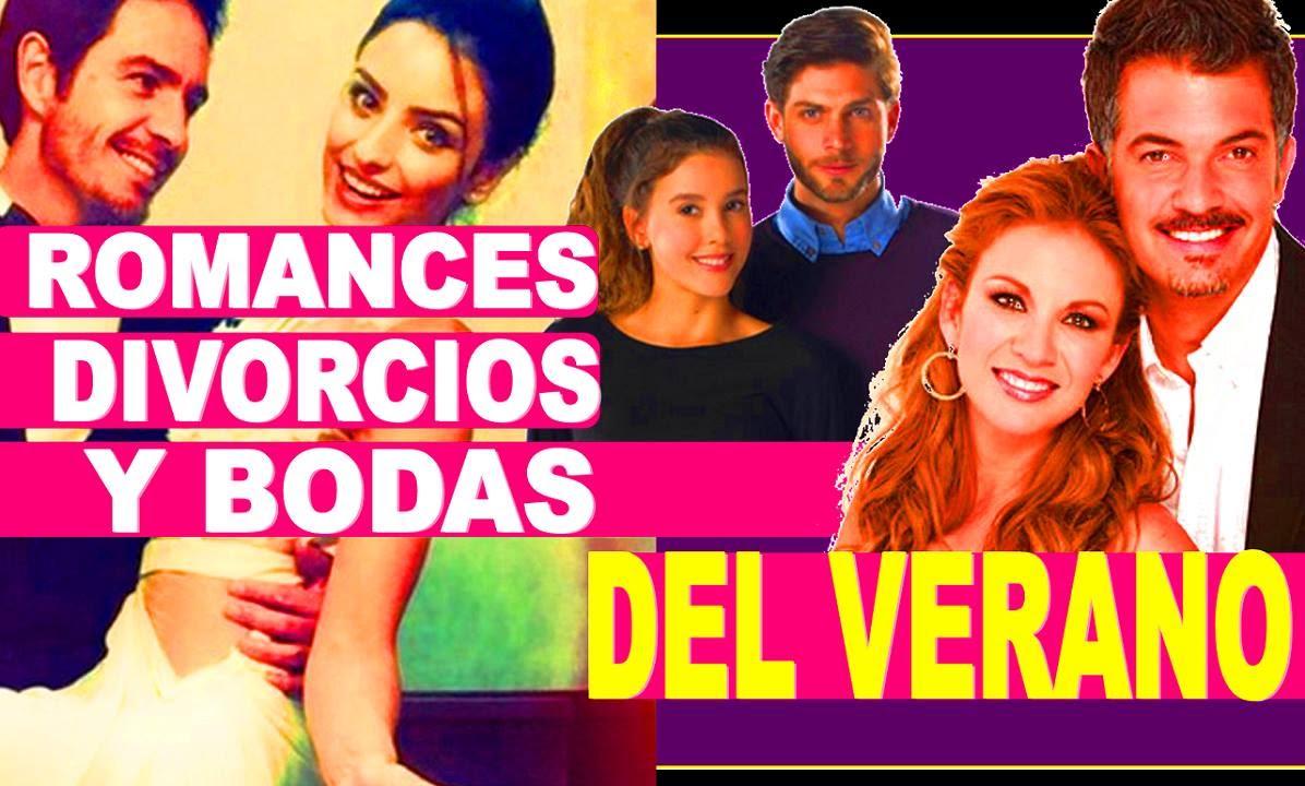 Romances y divorcios del 2016 famosos youtube for Chismes delos famosos 2016