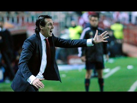 Seguimiento Unai Emery Sevilla F.C - F.C Barcelona