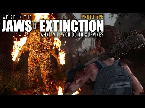 SICK UPCOMING ZOMBIE SURVIVAL GAME! | Jaws of Extinction | Prototype Gameplay | E01