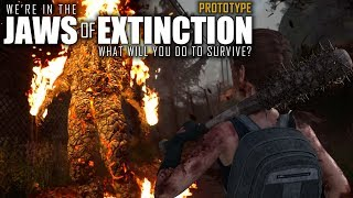 SICK UPCOMING ZOMBIE SURVIVAL GAME!   Jaws of Extinction   Prototype Gameplay   E01