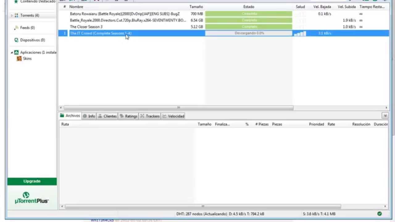 Como Usar El Utorrent Para Bajar Películas Youtube