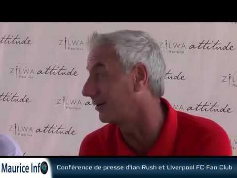 Maurice Info - Conférence de presse du Liverpool FC Fan Club et Ian Rush
