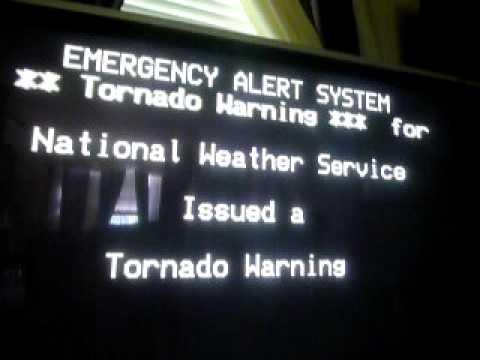 Real NOAA Weather Radio EAS Alert #179 + TV EAS Alert