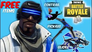 FREE Fortnite Skin Bundle! Celebration Pack! NEW Pickaxe, Contrail & Glider! Watch LIVE NOW!