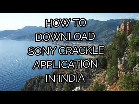 HOW TO DOWNLOAD SONY CRACKLE APP IN INDIA - YouTube