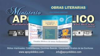 APOYO BIBLICO OBRAS LITERARIAS