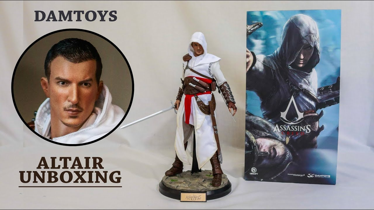 Assassin S Creed Altair Figure By Damtoys Unboxing Review Youtube