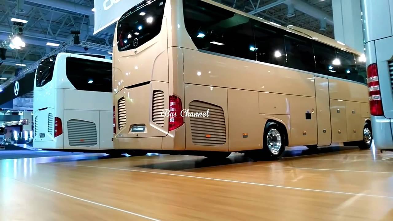 New Mercedes Benz Travego 2016 Comvex Fair 2016 Turkey Ibus Channel