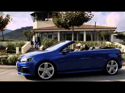 golf 6 r cabriolet youtube. Black Bedroom Furniture Sets. Home Design Ideas
