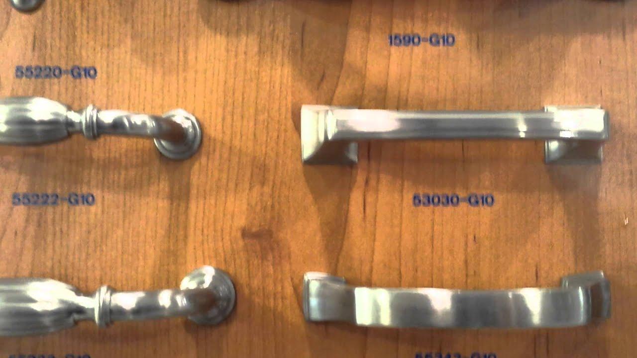 Tuscan Cabinet Hardware Selection