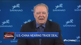U.S. and China nearing trade deal