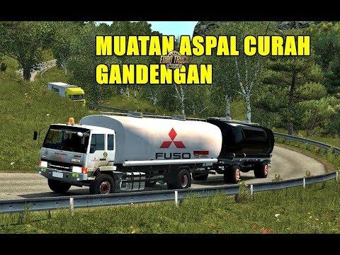 Mitsubishi Fuso FIGHTER  Meraung Di Tanjakan | ets2 mod Truck Indonesia