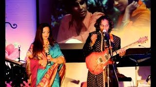 "PreethiSha & Chaminda Walpola live Tere Mere Milan Ki "" Abhimaan """