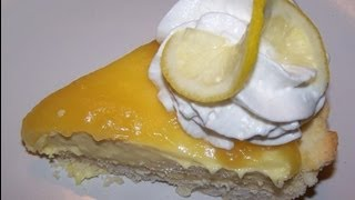 Gluten Free Lemon Cheese Pie