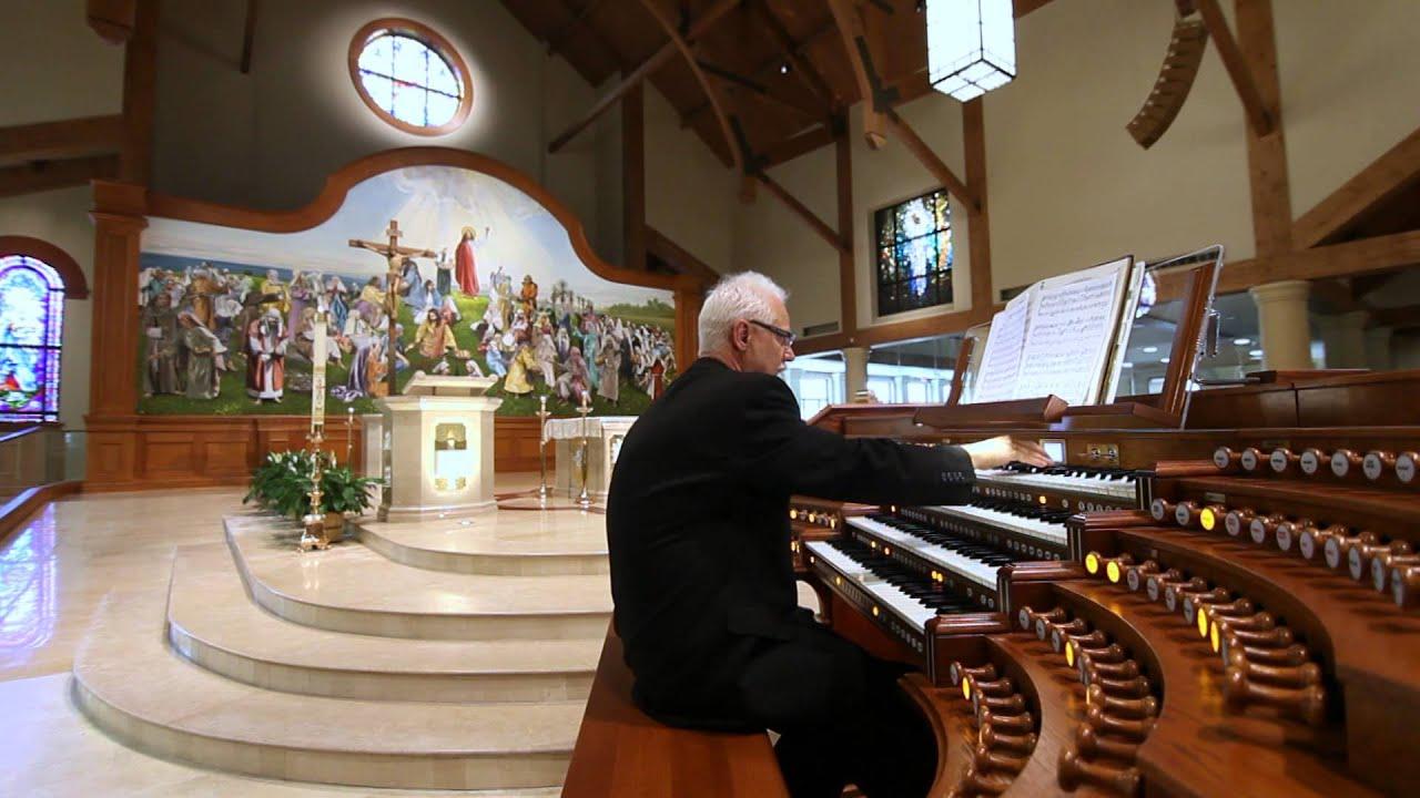 Beautiful Monarke organ for the Mary Queen Catholic Church, Friendswood, TX
