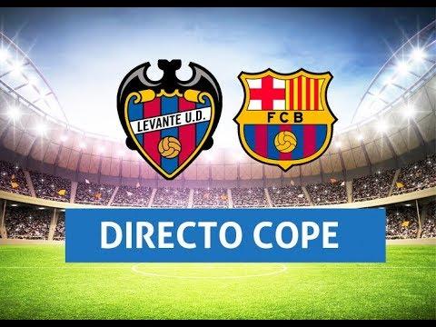 (SOLO AUDIO) Directo del Levante 0-5 Barcelona en Tiempo de Juego COPE