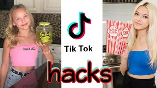 Testing VIRAL TIKTOK Hacks ft. Coco Quinn!! *They Worked!  (Kinda)**HILARIOUS**