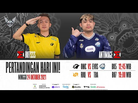 Stream: Mobile Legends: Bang Bang Official - MPL ID S8 Playoffs Baha