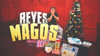 ABRIENDO MIS REGALOS DE REYES MAGOS CON MI HIJA
